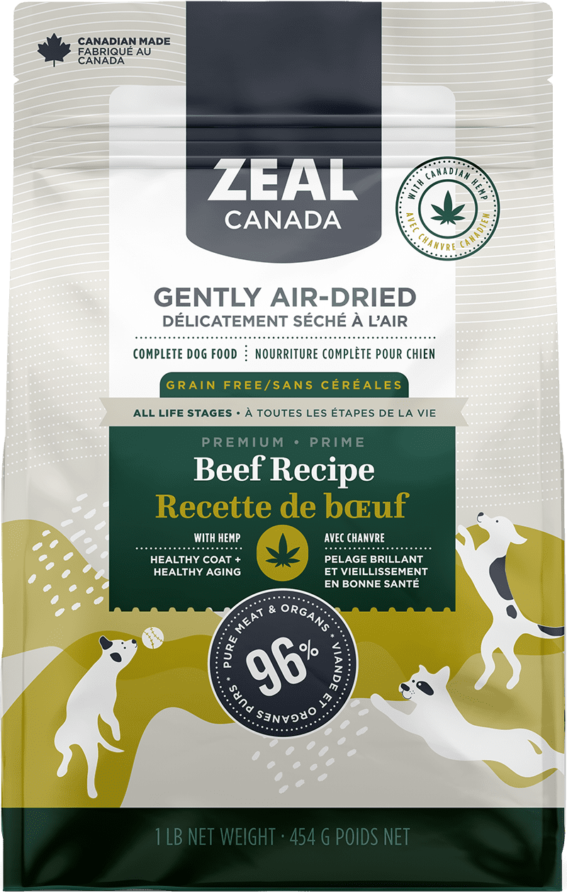 product image for Gently Air-Dried Beef with Hemp for Dogs