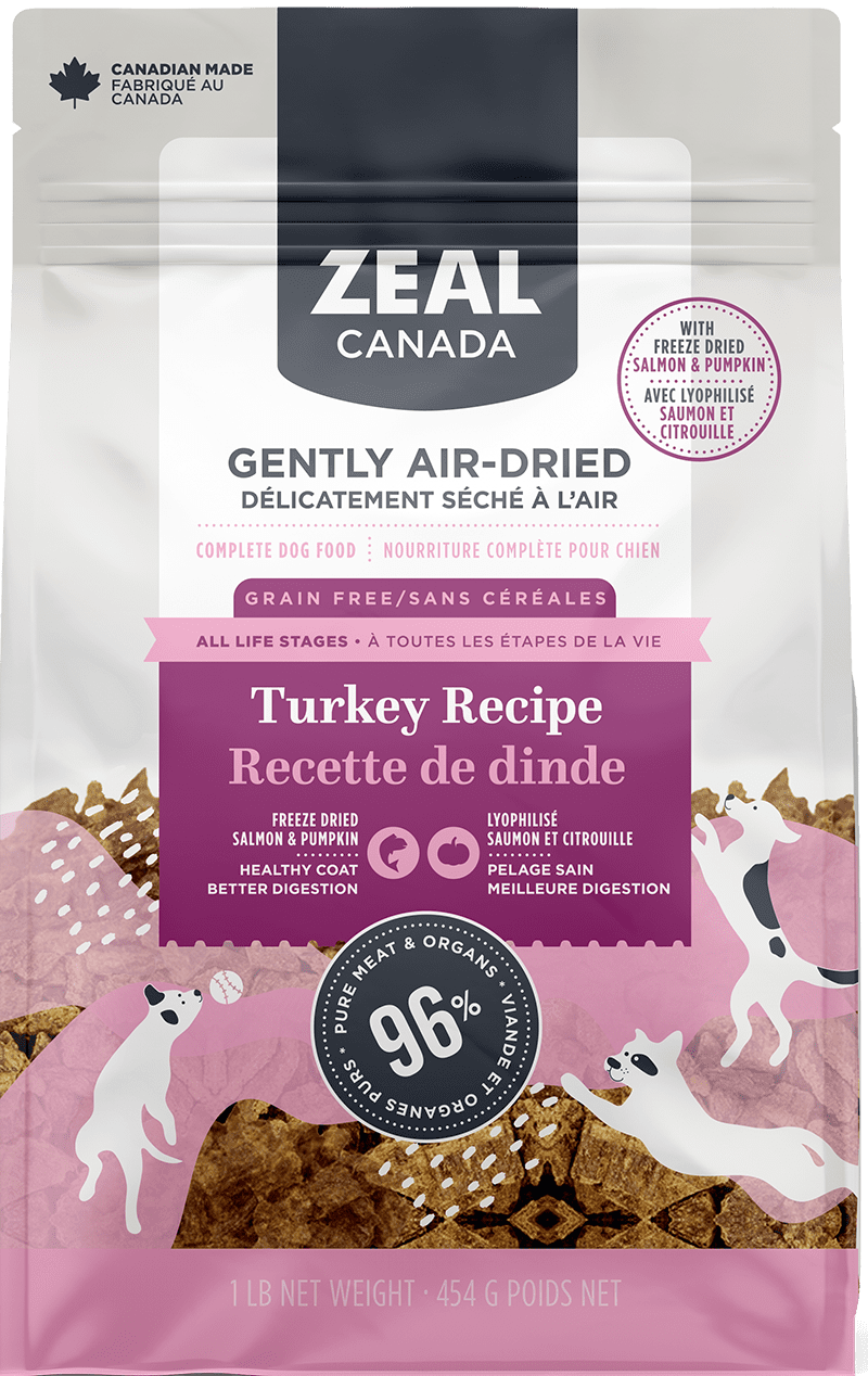product image for Gently Air-Dried Turkey with Freeze-Dried Salmon & Pumpkin for Dogs