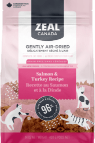 Salmon and Turkey <br> for Cats