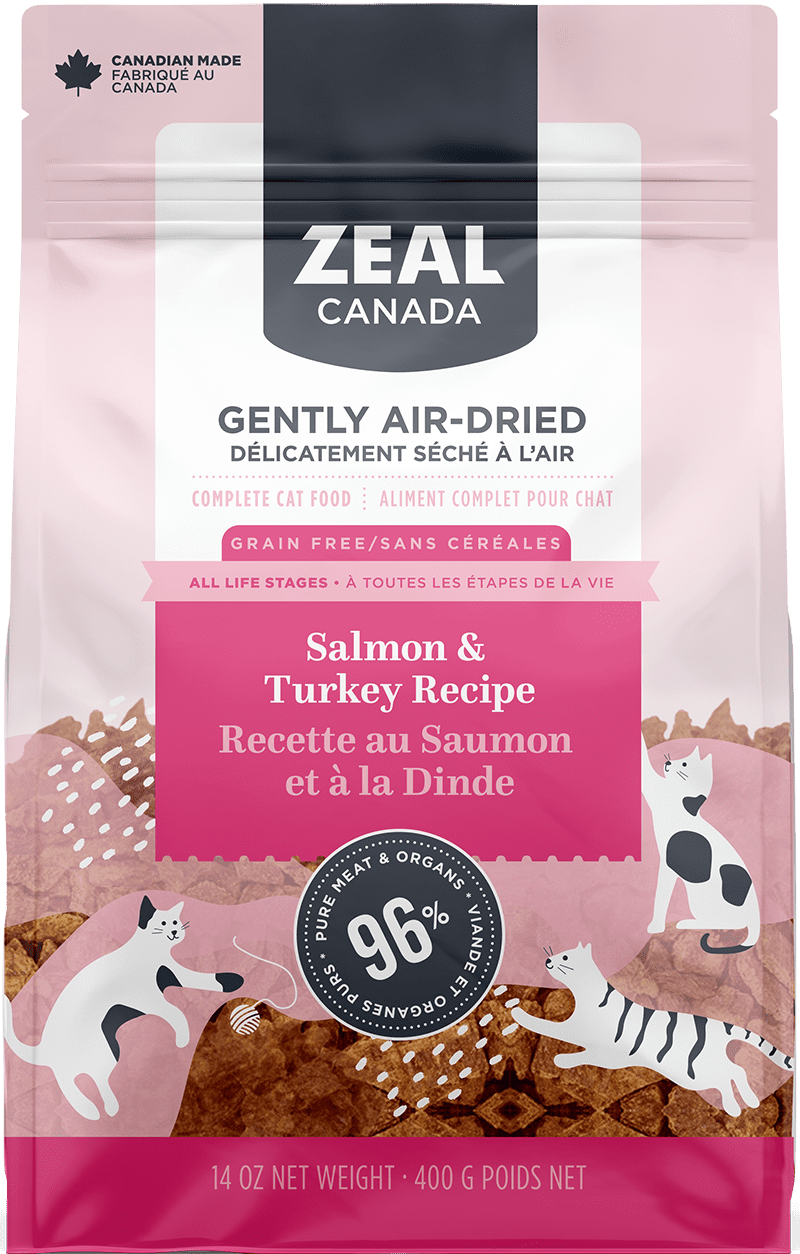 product image for Gently Air-Dried Salmon and Turkey for Cats