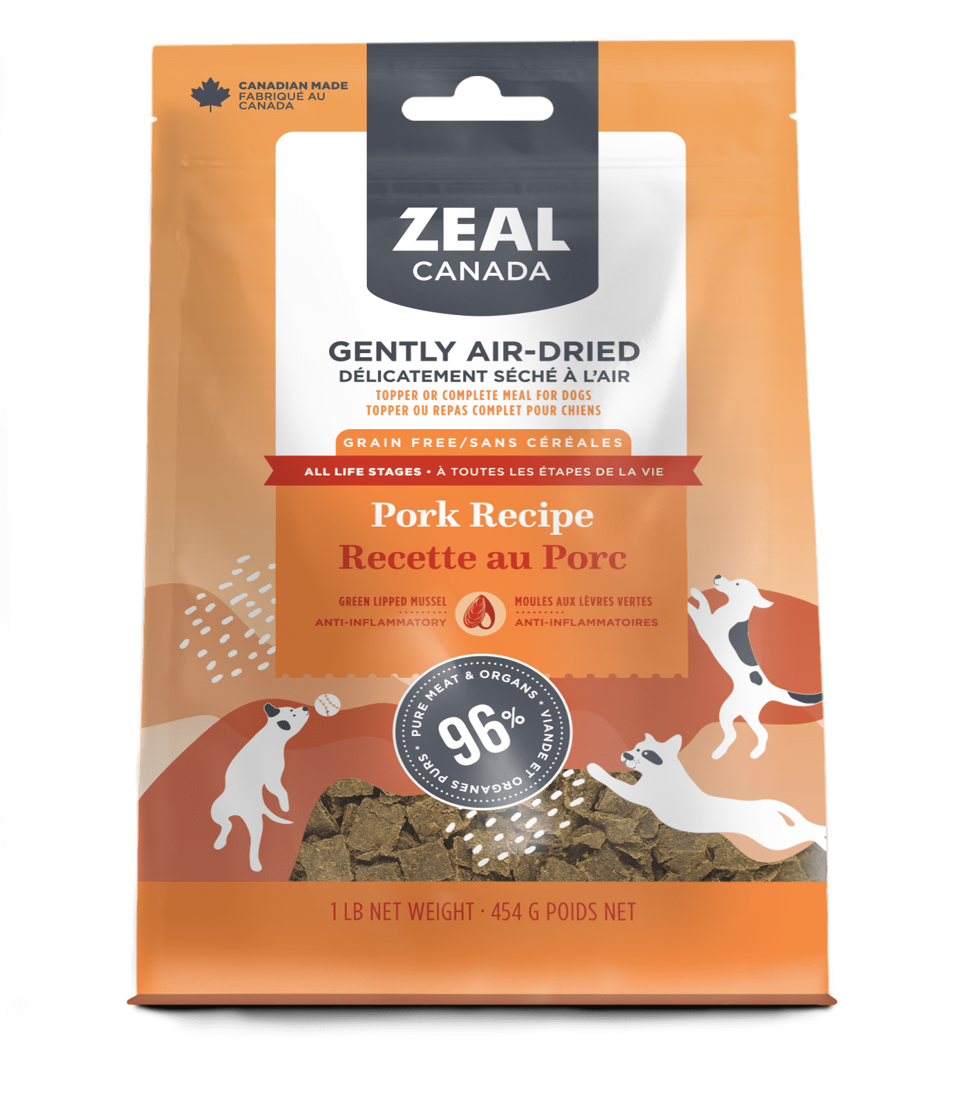 product image for Gently Air-Dried Pork for Dogs