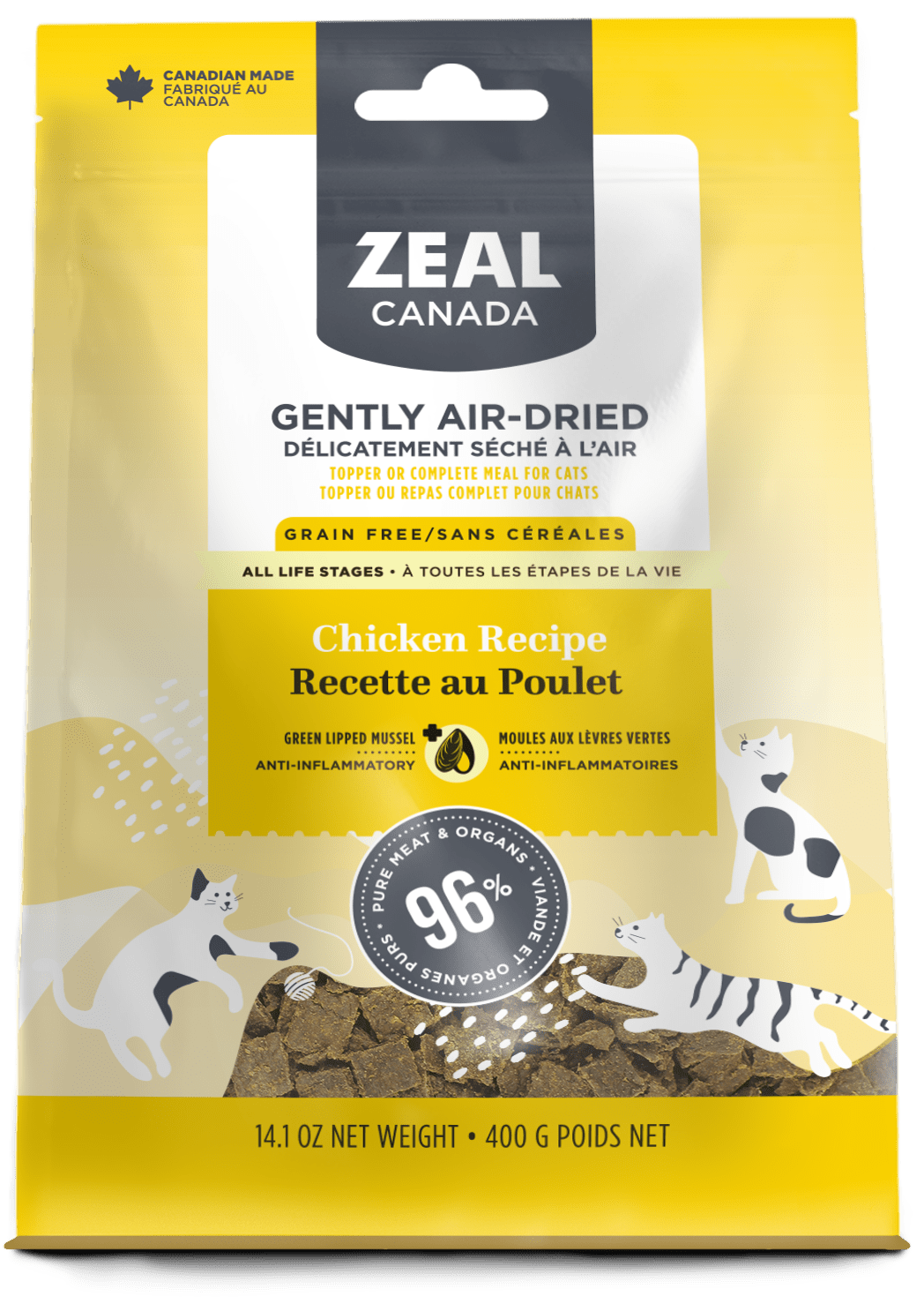 product image for Gently Air-Dried Chicken for Cats
