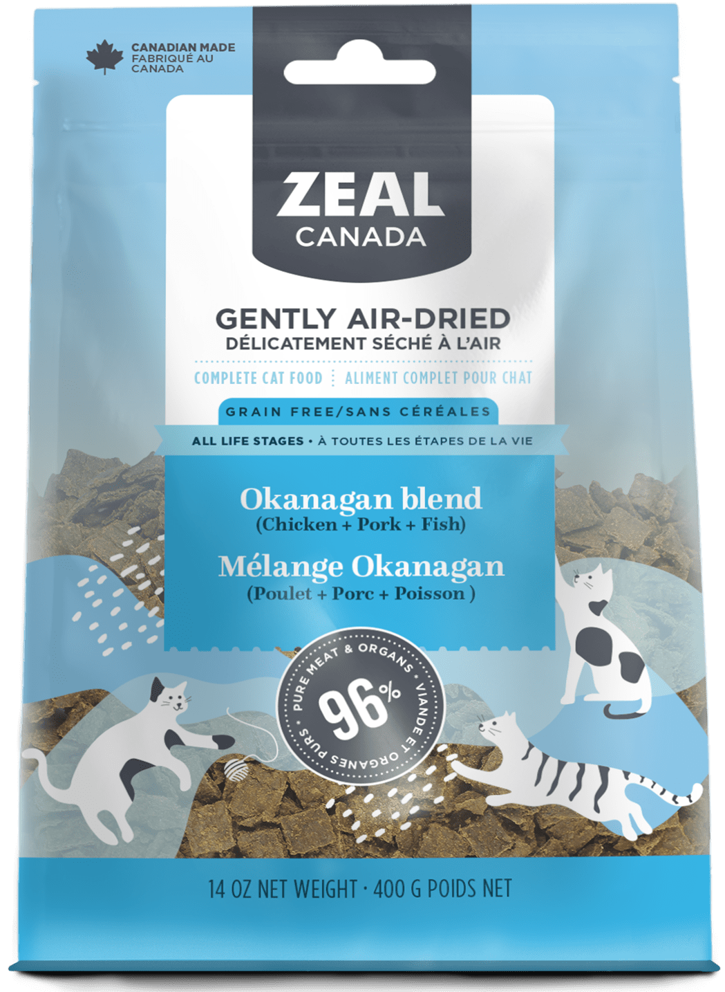 product image for Gently Air-Dried Okanagan blend for Cats